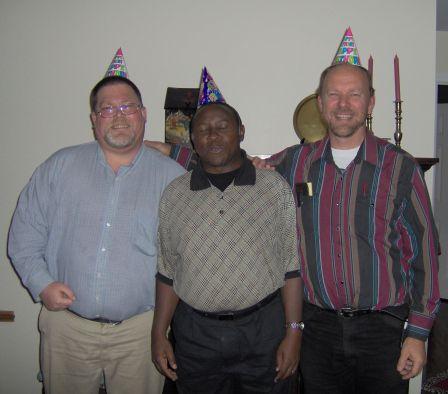 John, Paul and Frank